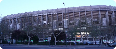 Estadio Santiago Bernabeu Padel Pro Tour SEAT Madrid 2010