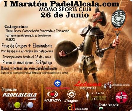 I Maraton PadelAlcala.com en Momo Sports Club, Junio 2010