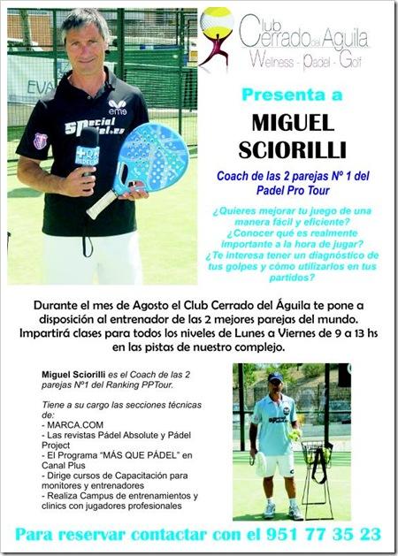 Club Cerrado del Aguila con MIguel Sciorilli Agosto 2010