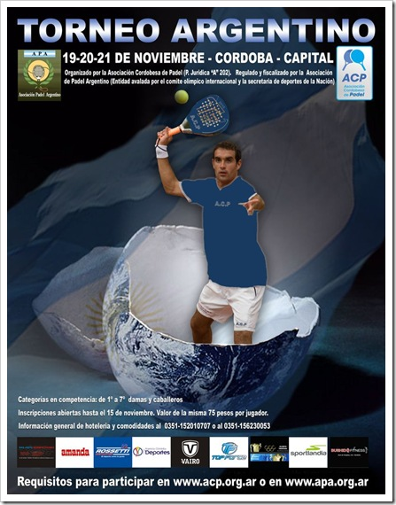 Torneo Argentino APA Y ACP noviembre de 2010