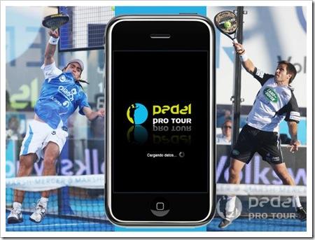 Padel Pro Tour y el iPhone 2010