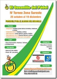 Torneo Padel El Gusanillo del Padel Zona Sureste Madrid