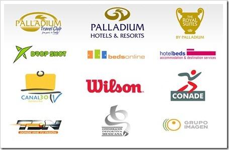 Patrocinadores MUNDIAL MEXICO 2010 PADEL TODOS