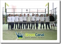 Profesores Padel Golf Canal Madrid 2010