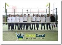 Profesores Padel Golf Canal Madrid 2010