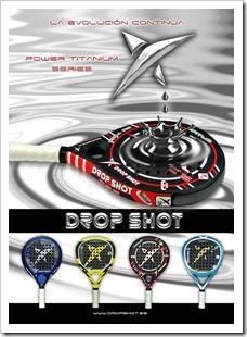 drop shot padel coleccion 2011 y fichajes