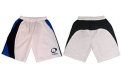 pantalones cortos kaleon padel blancos