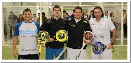 drop shot en el smash padel de sevilla 2011