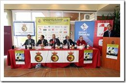 Presentación Campeonato de España de padel 2011 a