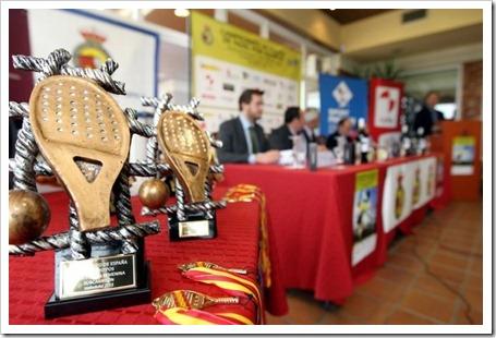 Presentación Campeonato de España de padel 2011 b