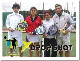 finalistas 3º open mixto drop shot fuencarral fernando pina 2011