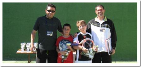 Sergio Gregorio y Drop Shot Padel 2011