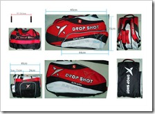 PALETERO ELITE DROP SHOT 2011 ROJO