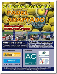 II Torneo Nacional de Pádel Adaptado 2011