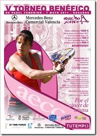 V TORNEO BENÉFICO DE PADEL FEMENINO MERCEDES BENZ COMERCIAL VALENCIA en el club tutempo dos a dos