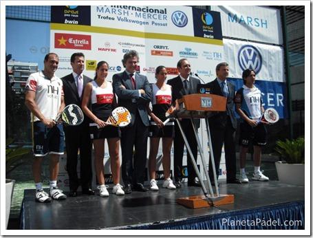 Presentación Oficial del bwin PPT Marsh-Mercer Trofeo Volkswagen Passat 2011.