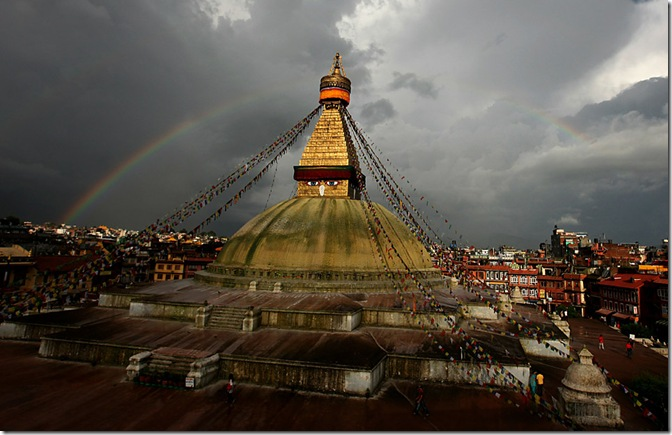 NEPAL-THEME-RELIGION-BUDDHISM