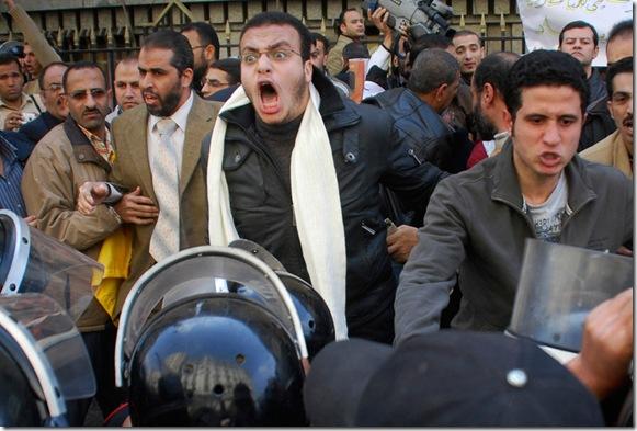 Mideast Egypt Protest