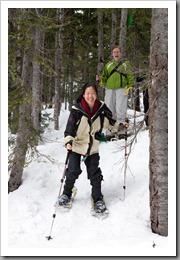 Mt Hood Snowshoeing-86