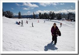 Mt Hood Snowshoeing-8