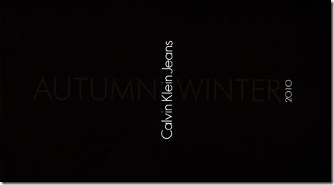 Calvin Klein capa