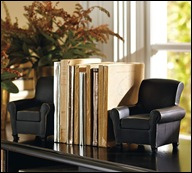 Chair-bookend