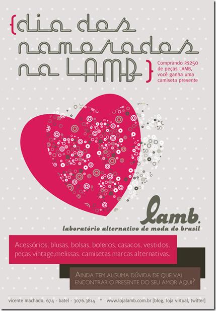 LAMB Dia dos Namorados
