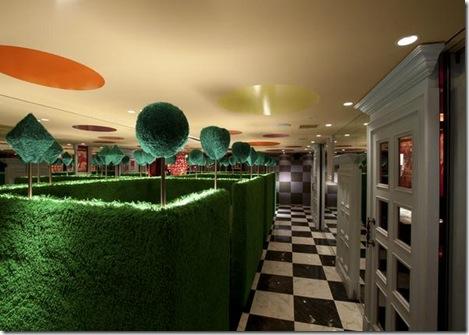 Restaurante Decoracão Ambiente Alice no Pais das Maravilhas 02