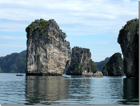 Halong bay - one of world's nature wonder