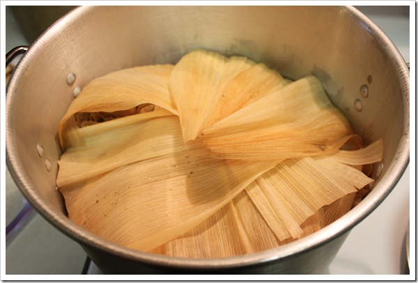 chicken tamales in green sauce-13