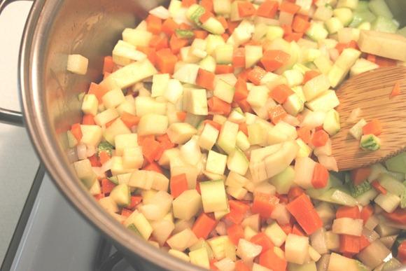 Sopa de Fideo con pollo5