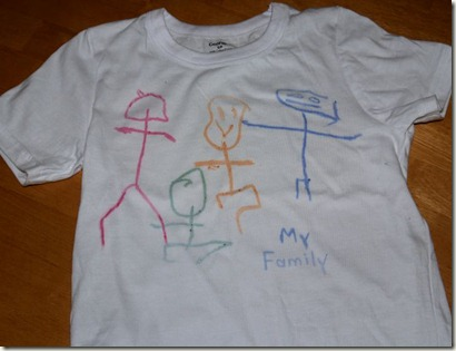 my family tshirt