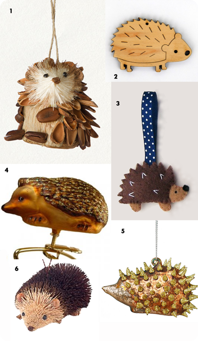 hedgehog.ornaments