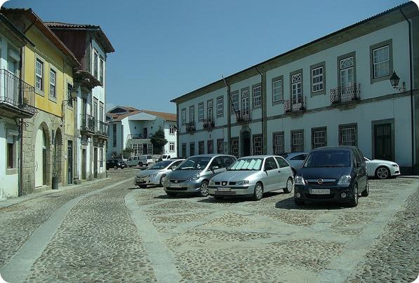Praça no Centro Histórico de Valença