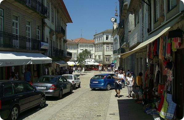 Lojas nas proximidades da Praça da República
