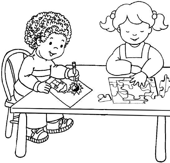 DIBUJOS CON ACTIVIDADES INFANTILES PARA PINTAR