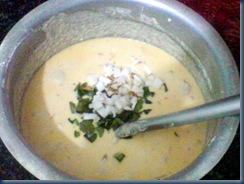 garnished adai batter