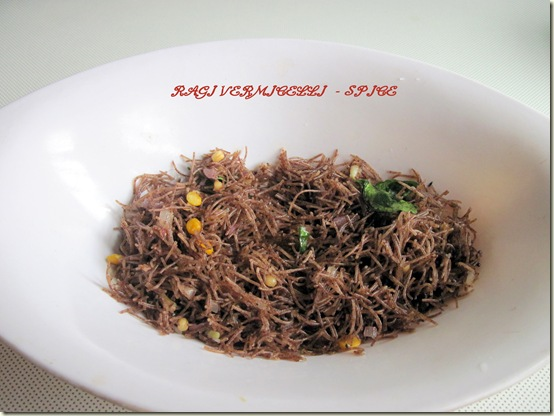 RAGI VERMICELLI - SPICE