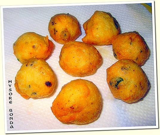 MYSORE BONDA 1