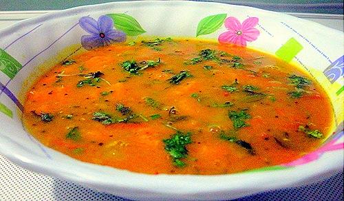 Carrot sambhar