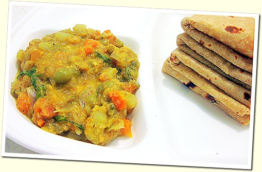 Vegetable pyaz masala 1