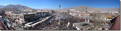 From Jokhang Temple, Lhasa