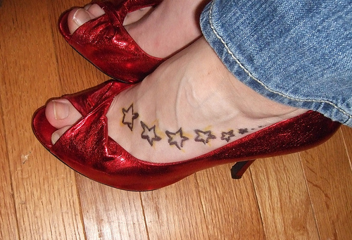 tattoo quotes for girls on foot. tattoos on feet quotes. quotes