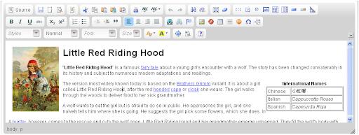 CKeditor Rich Text Editor