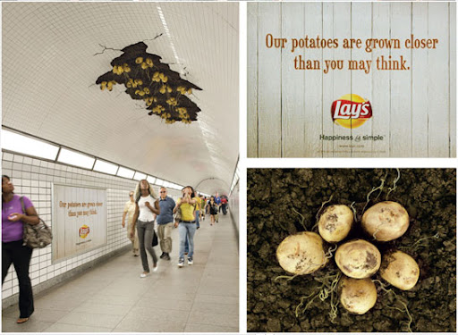 Lays advertising