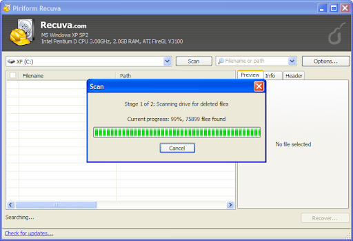 recuva Top 10 FREE Data Recovery Software