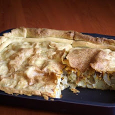 Potato & Onion Pie (Vegetarian)