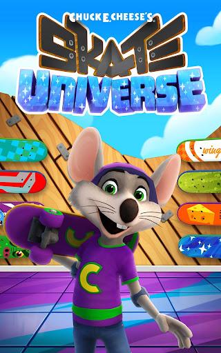 Chuck E.s Skate Universe - screenshot