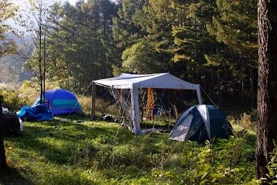 森のぽー、思いでの長野家族キャンプ