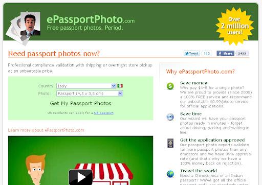 Come creare un'immagine stile fototessera online
